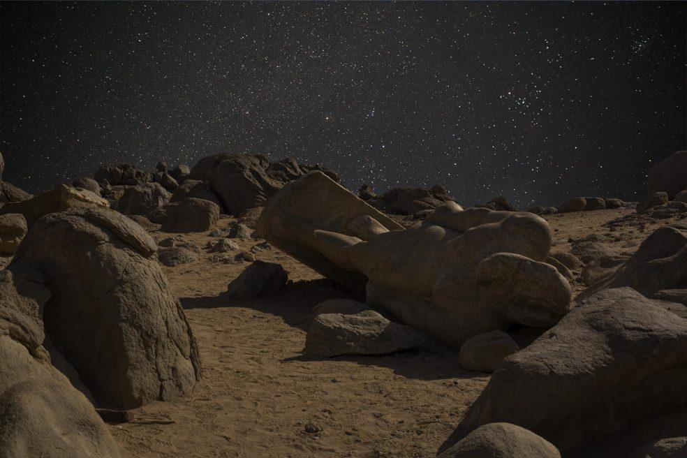 Taharqa et la nuit